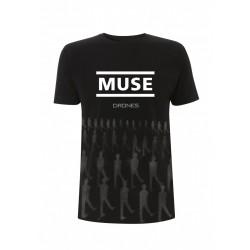 Koszulka Muse - Muse Toned Drones Black Men's T-Shirt