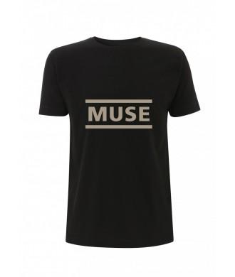 Koszulka Muse - Logo Black Men's T-Shirt