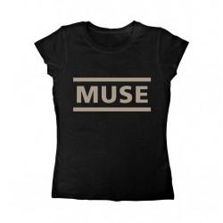 Koszulka Muse - Logo Ladies Black T-Shirt