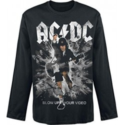 Bluza AC/DC Blow Up Your Video Black Sweatshirts