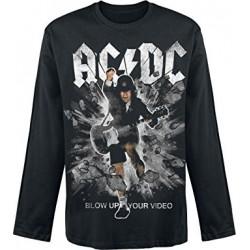 Bluza AC/DC Blow Up Your Video Black Sweatshirts
