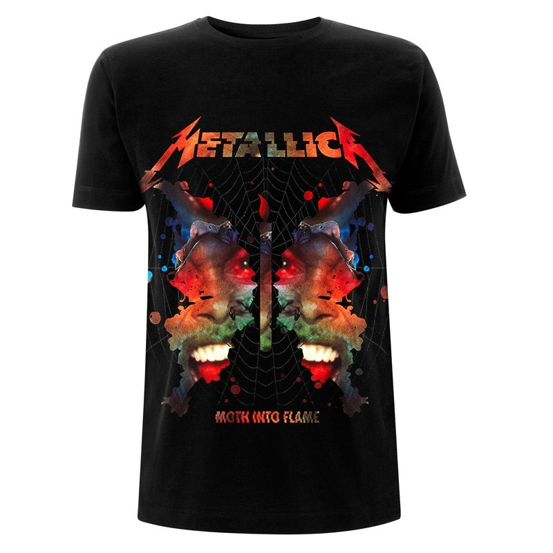 Koszulka METALLICA ink moth black tshirt