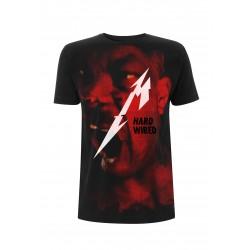 Koszulka METALLICA hardwired jumbo black tshirt