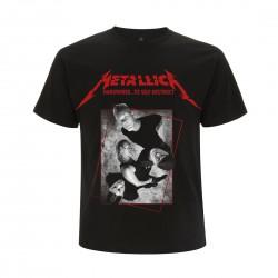 Koszulka METALLICA harwired band concrete black tshirt