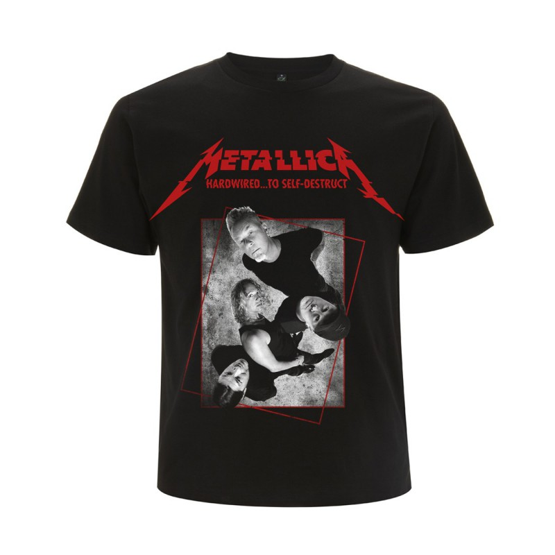 Koszulka METALLICA harwired band concrete black tshirt