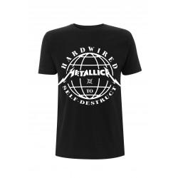 Koszulka METALLICA harwired domination black tshirt