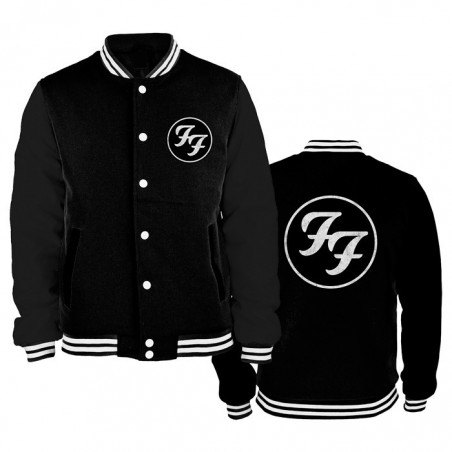 Bluza Foo Fighters initials college jacket