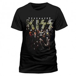 Koszulka KISS destroyer germany blk t m