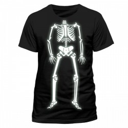 Koszulka męska - HALLOWEEN ORIGINALS - SKELETON GLOW t-shirt