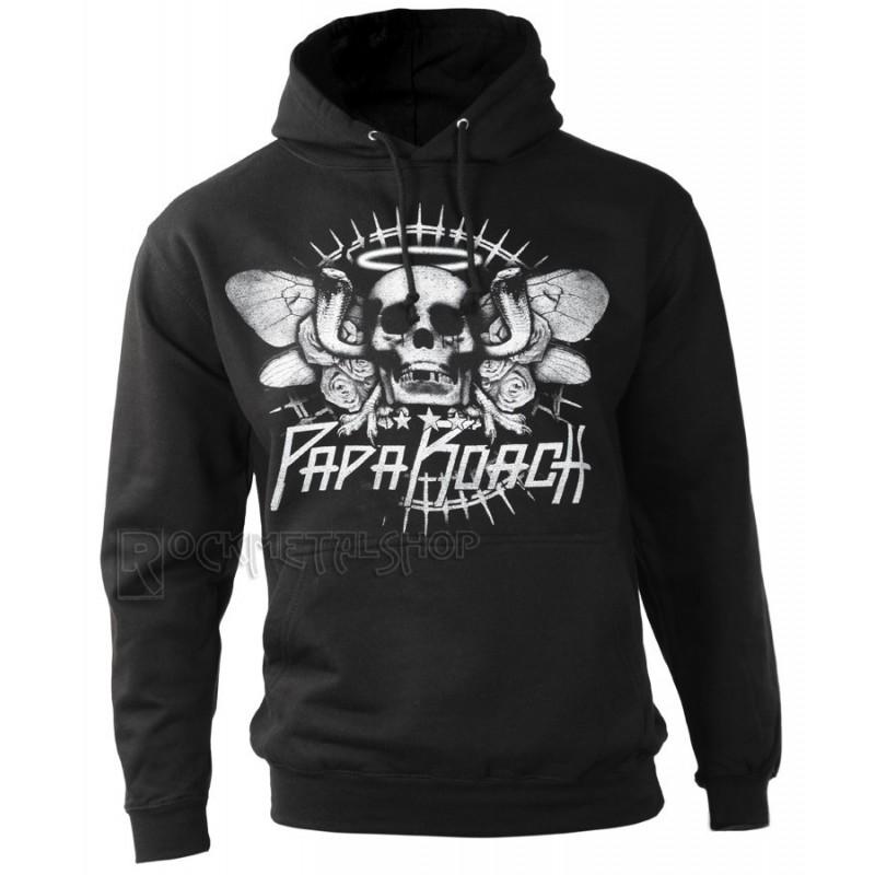 Bluza PAPA ROACH - COBRA SKULL - hood