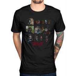 Slipknot Mens Tee: Blocks
