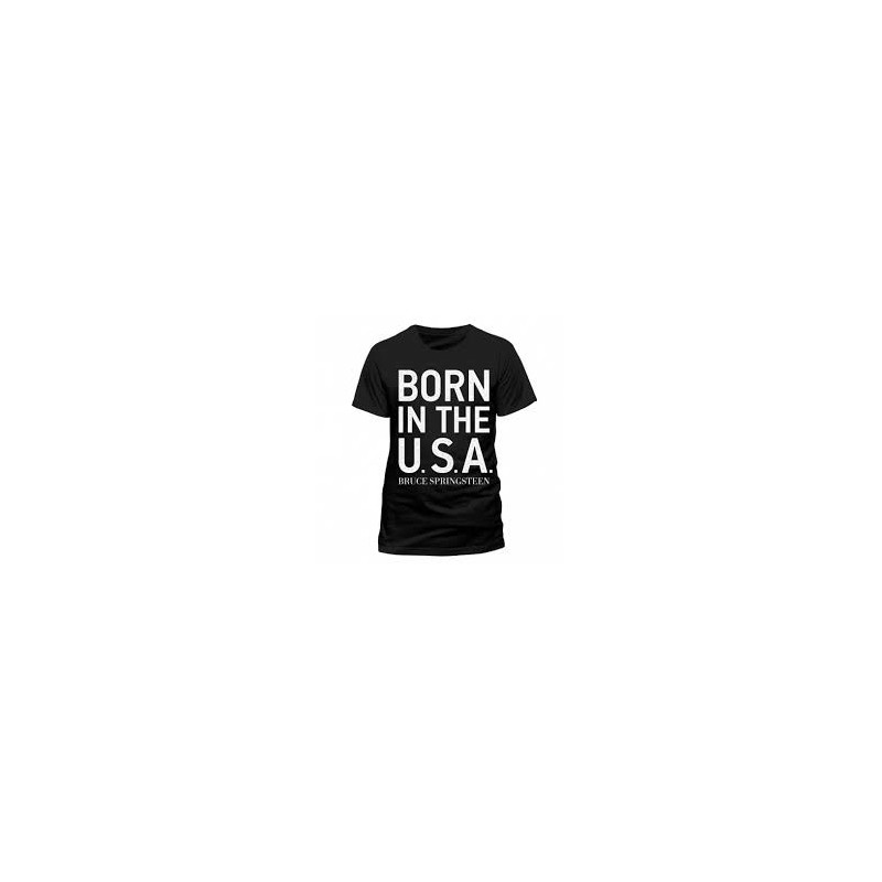 Koszulka Bruce Springsteen  - Born To Rock - t-shirt