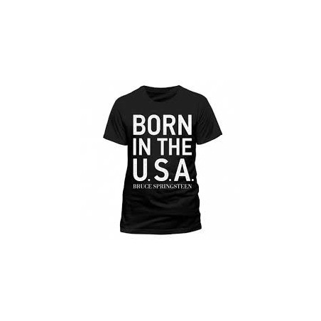 Koszulka Bruce Springsteen - Born To Rock - t-shirt