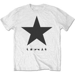 Koszulka David Bowie Blackstar on White Mens