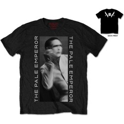 Koszulka Marilyn Manson The Pale Emperor Mens Blk
