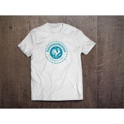 Koszulka Kazimiernikejszyn Logo Męska Biała