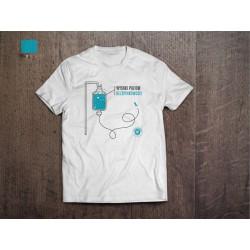 Koszulka Kazimiernikejszyn Wysoki Poziom Bezpinkowości Biała