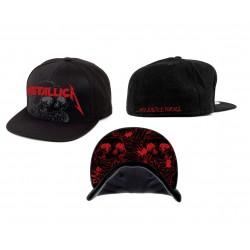 Czapka Metallica One Justice Black Snapback cap