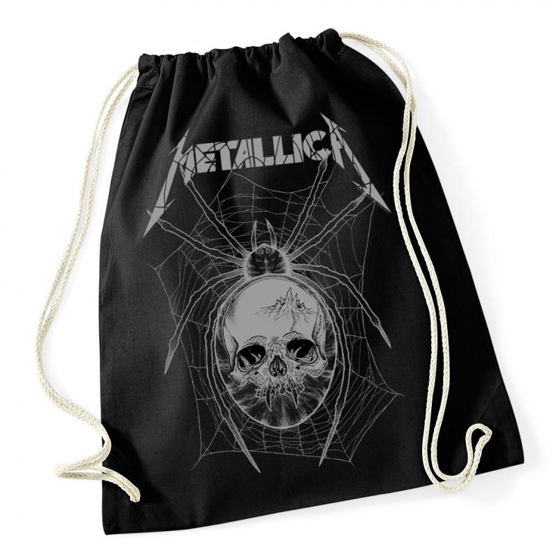Worek/Plecak Metallica Gray Spider - Black