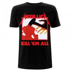 Koszulka T-shirt Metallica Kill 'em all Tracks Czarna