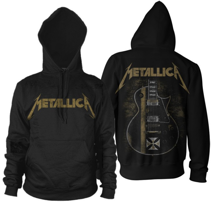 Bluza  Metallica Hetfield Iron Cross z  kangurka z kapturem