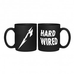 Kubek Metallica Hardwired czarny matowy