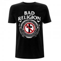 Koszulka T-shirt Bad Religion Badge - czarna