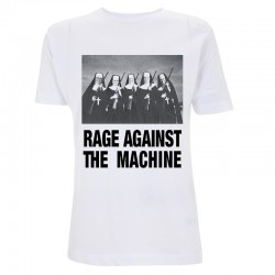 Koszulka T-shirt Rage Against The Machine Nuns & Guns biała