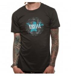Koszulka Nirvana - Silhouette - t-shirt