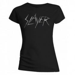 Koszulka Slayer - Scratchy Logo Ladies - t-shirt