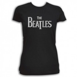 The Beatles - Drop T Logo - koszulka / t shirt (damska)