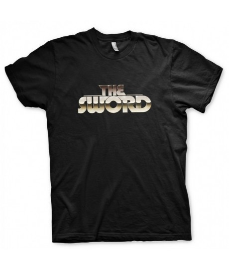 THE SWORD - CHROME LOGO BLACK