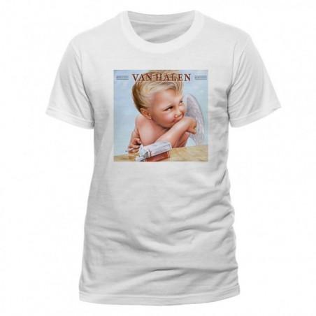 VAN HALEN - 1984 Unisex T-shirt WHITE