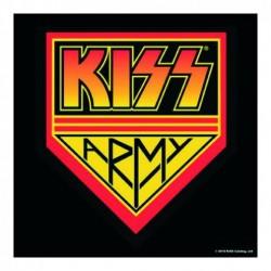 KISS - Kiss Army Pennant Individual Cork Coaster