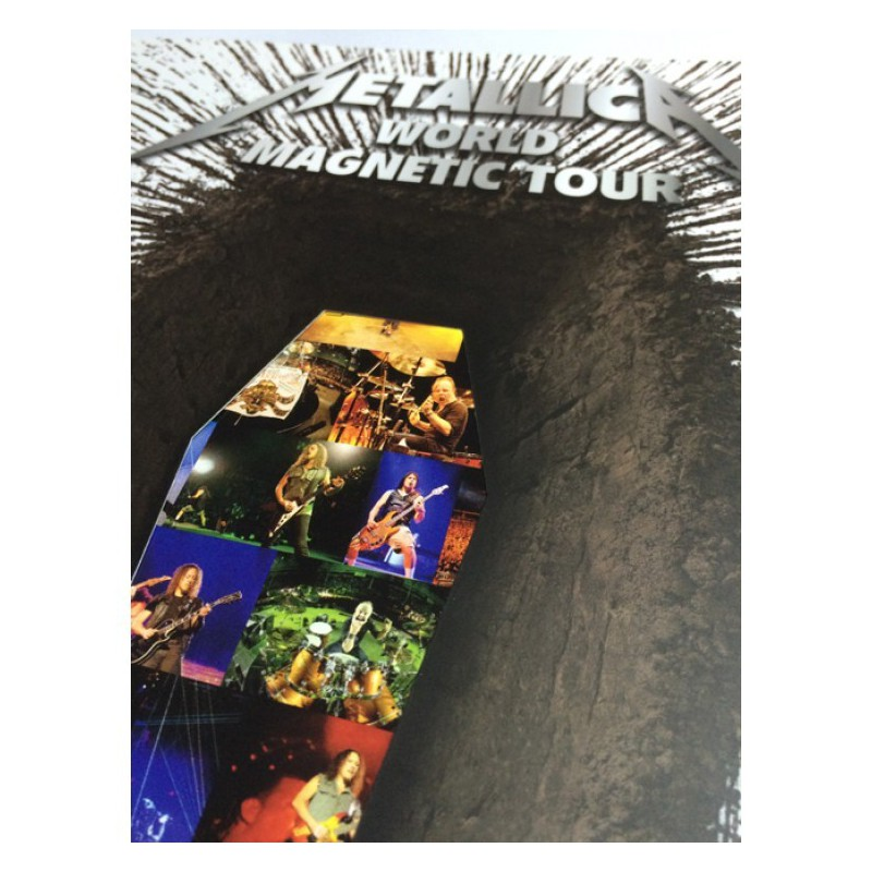 Książka Metallica - Death Magnetic Tour program (40 stron) - book
