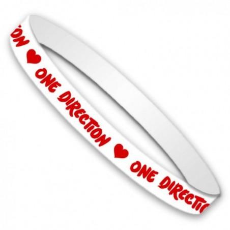 Opaska One Direction - Basic Gummy - band