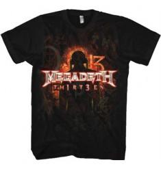 Koszulka damska Megadeth - Th1rteen - Ladies - t-shirt