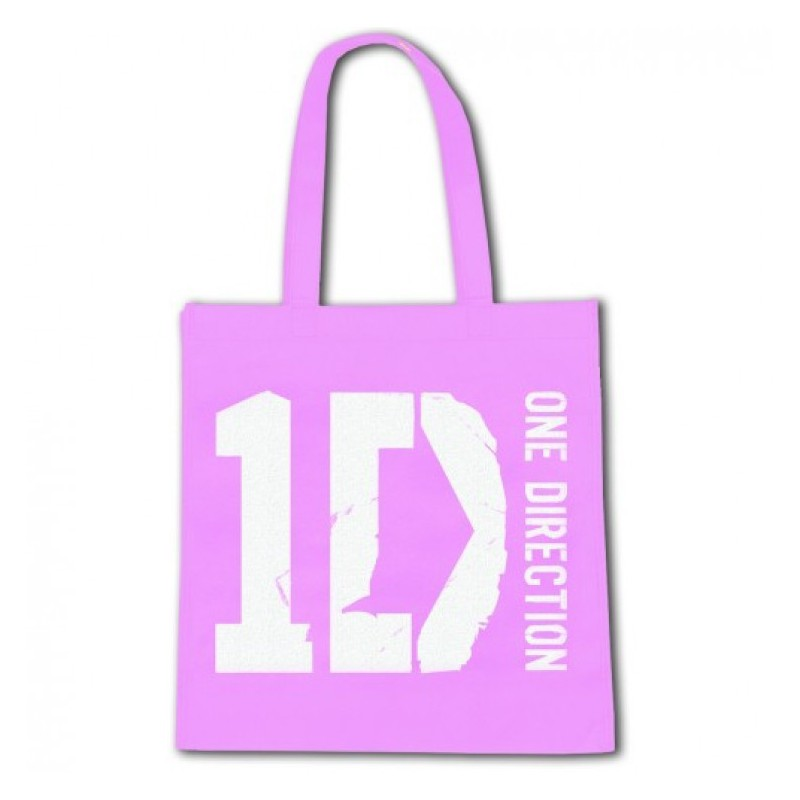 Torba - One Direction - Logo Eco Pink - bag