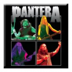 Magnes na lodówkę Pantera  - Band Photo - Fridge Magnet